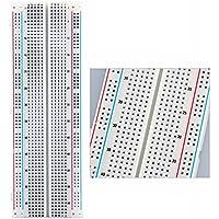 Foxnovo Universale Tie-punti 830 contatti Solderless millefori esperimento Test scheda PCB circuito stampato