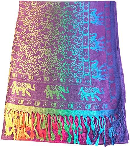 cj-apparel-violet-lphant-design-shawl-pashmina-charpe-emballage-tole-lancer-secondes