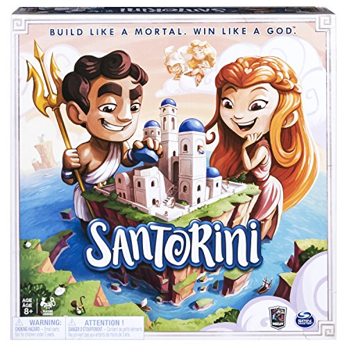 Spin Master Santorini Niños y adultos Estrategia - Juego de tablero (