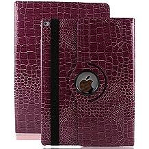 iPad Mini 2 Funda, Avril Tian 360 grados giratoria Folio Stand Slim Protector de pantalla Funda Smart Case Cover para Apple iPad Mini/iPad Mini 2/iPad Mini 3 7.9 Inch Tablet