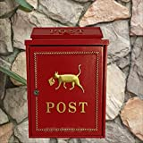 HZB Wasserdichter Briefkasten für Außenwand des Landhaus-Raumes im europäischen Briefkasten-Wohnviertel