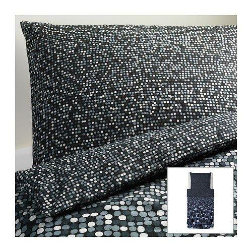 Ikea sm rboll grigio set di biancheria da letto 2 teilig 140 x 200 cm e 80 x 80 cm cuscino copri - Biancheria da letto ikea ...