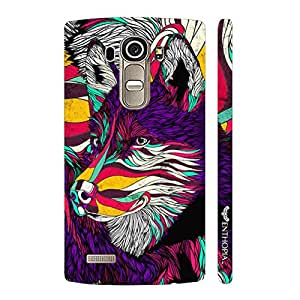 LG G4 What does the fox say? designer mobile hard shell case by Enthopia