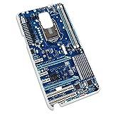 Blau Computer Motherboard–Prozessor CPU MEMORY Snap On Hard Schutzhülle für Samsung Galaxy Note 4