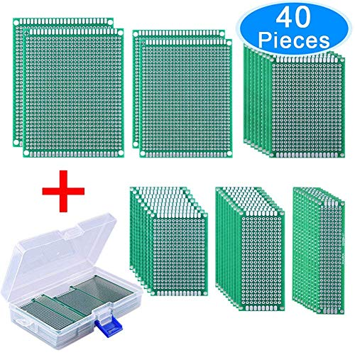 AUSTOR 40 Pieces Double Sided PC...