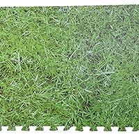Rapide 8PC Grass Effect Interlocking Eva Mat by Sabar
