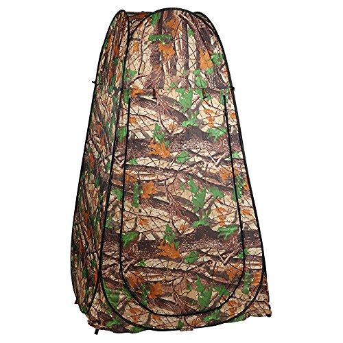 Befied Pop-up Zelt Portable Duschzelt, Umkleidezelt, Toilettenzelt für unterwegs, Camping inkl. Tasche (Typ 3)