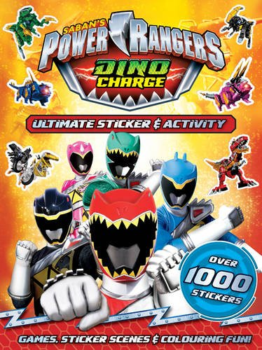 Image of Power Rangers Ultimate Sticker & Activity