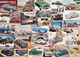 Gibson Games Memories Of Classic Motor Cars - 1000 Teile Puzzle