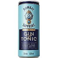 Bombay Sapphire Gin & Tonic Ready to Drink - Confezione da 12 x 250 ml