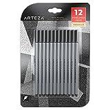 Arteza Fineliner Stifte - Feine Filzstifte 0.4mm Spitze - 12 Schwarze Feinstifte