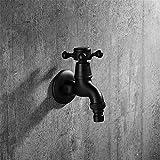 QINLEI europäische antike kupfer schwarz waschmaschine 4 einzigen tap tap tap und verdickt schnell verlängert,ein