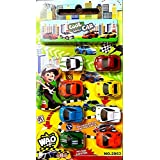 SuperToy(TM) Mini Die Cast Car Set Toy For Kids 8 Pec