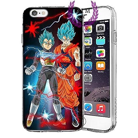 Étuis Coque iPhone Dragon Ball Z Super GT Case Cover - Dernières conceptions uniques - Derniers modèles - Tous les modèles iPhone - Neuf - La plus haute qualité - Tournament Of Power - Goku Black Rose - Goku Blue - Gohan - Jiren - Vegeta Blue - DBS - DBZ - DBGT - Beaucoup De Designs - MIM UK (iPhone 5/5s/SE, Ultimate Duo)