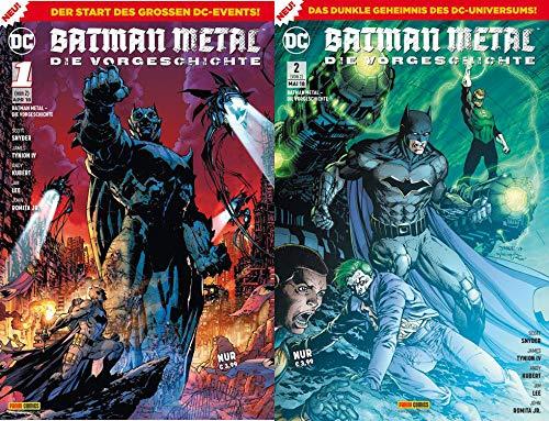 DC Comics BATMAN METAL: Die Vorgeschichte - komplett (Comic Teil 1 und 2)