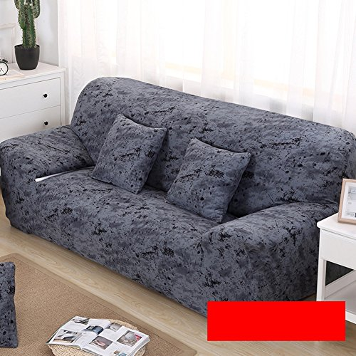 Anti-scivolo divano fodera elastica,tinta unita copridivano elasticizzato,all-in-one divano letto antipolvere universal mobili protector per 1 2 3 4 cuscini divano surefit stretch coperchio antipolvere-a 230x300cm(91x118inch)