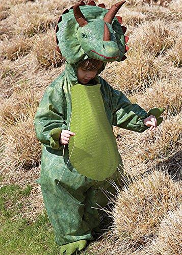 Disfraz de Triceratops de dinosaurio para niños Medium (6-8yrs)