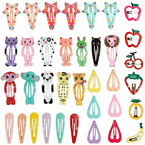 Lictin 36pcs Cartoon Clips Cute ...