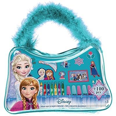 Disney Frozen DARP-CFRO037 Frozen My Creative Handbag - Kit de Accesorios creativos (100 Piezas) de FROZEN