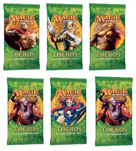 Magic the Gathering Theros 2 (Two) Player Booster Draft Set MTG Booster Packs (6 Total Packs) - Draft-booster
