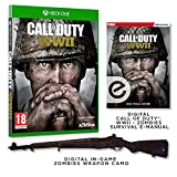 Call of Duty®: WWII + Digital Zombies Weapon Camo + Zombies Prima Strategy Add-On (Exclusive to Amazon.co.uk) (Xbox One)