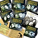 "Superstars Of Country Deluxe 12 CDs Set by Zestify (2013 International Edition) - 12 CDs + Bonus CD + Free 2 DVD set + Bonus Booklet by Anne Murray, Atlanta, B.J. Thomas, B.J.Thomas, Barbara Fairchild, Barbara Mandrell, Bellamy Brothers, Bill Anderson, Billie Jo Spears, Billy ""Crash"" Craddock, Billy Swan, Bobbie Gentry, Bobby Goldsboro, Boxcar Willie, C.W.McCall, Cal Smith Alabama (2013-01-01)"