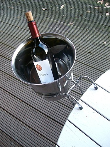 Praktisches Haltegestell, Tischhalterung für Weinkühler, Sektkühler