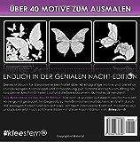 Image de Malbuch für Erwachsene: Grazile Nachtfalter (NACHT EDITION - Stressabbau, Entspannung & M