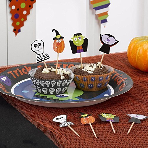 Süßes oder Saures Halloween Papier Essen Auswahl, Vpe 20