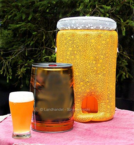aufblasbarer Bierfasskühler Bierkühler Partyfass Kühler für 5 Lieter Fass - Fass-kühler