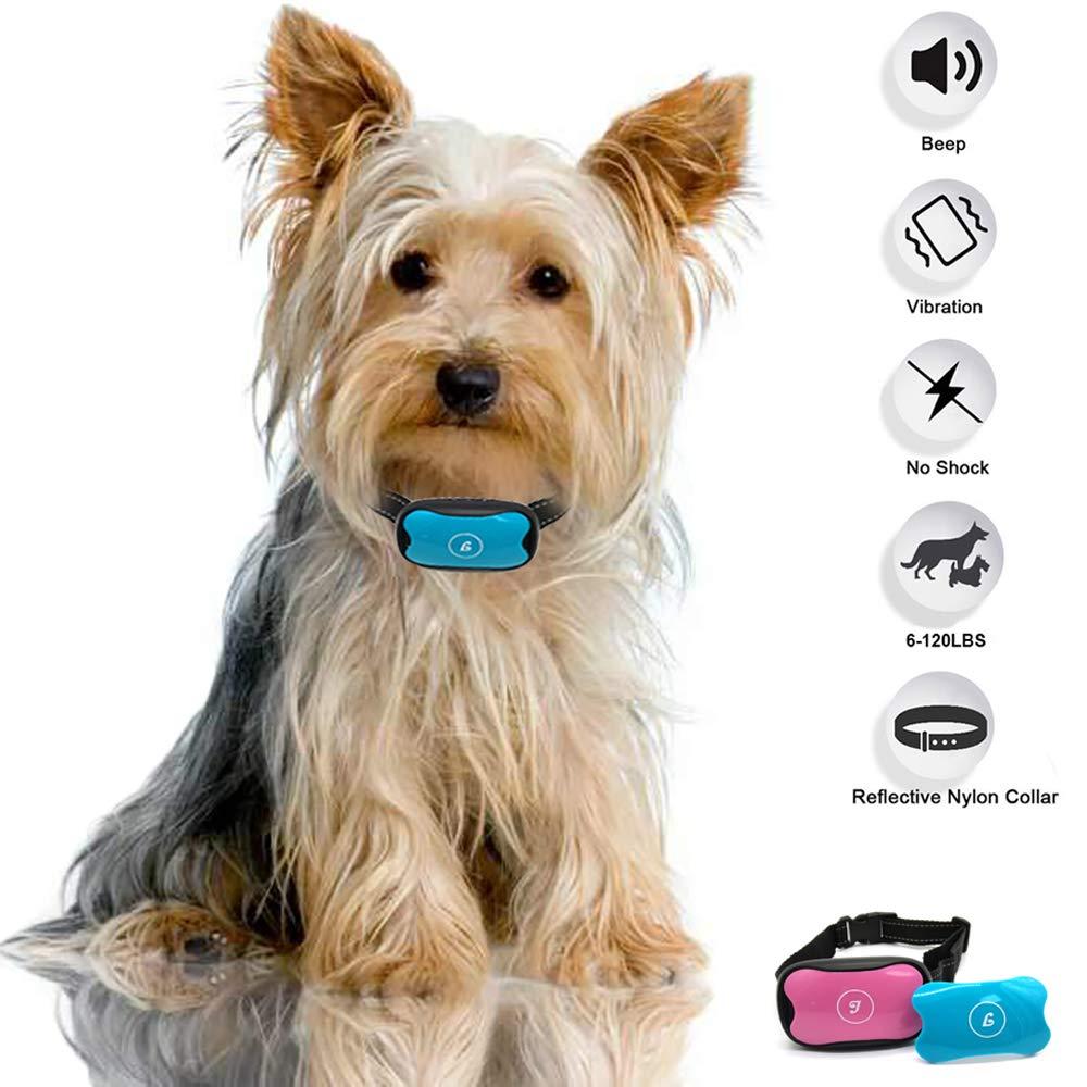 JAFAA Anti Barking Dog Collars Stop Dog Barking Best Anti Barking Device No Shock Anti Bark Collar Bark Control Training For Small Medium And Large Dogs Humane And Safe Bark Deterrent No Bark Collars