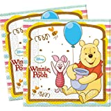 Disney Winnie The Pooh Paper Napkins, Pack of 20