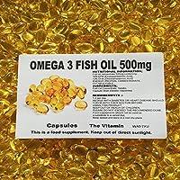 The Vitamin Omega 3 Huile de poisson 500mg 60 gélules' ' (L)