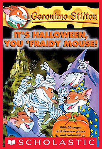 Geronimo Stilton #11: Its Halloween, You Fraidy Mouse! (English ...