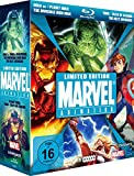 Marvel Limited Blu-ray Edition (Hulk vs.Thor & Wolverine, The Invincible Iron Man, The Next Avengers, Planet Hulk & Thor - Tales of Asgard) (5 Disc Set)