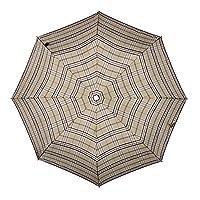 Knirps 878-539 - T2 Duomatic Umbrella, Check Tan
