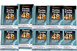 Alcotec Turbohefe 48H - 20% in 5 Tagen! (10 Packungen) -