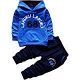 Chic-Chic Kids Baby Boys Girls Long Sleeve Sweatshirt Tops + Long Pants Tracksuits Outfits Clothes Clothing Set