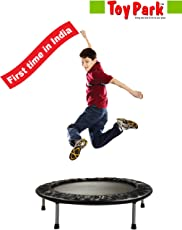 Toy Park Compact Indoor/Outdoor Trampoline for Kids -40 inch
