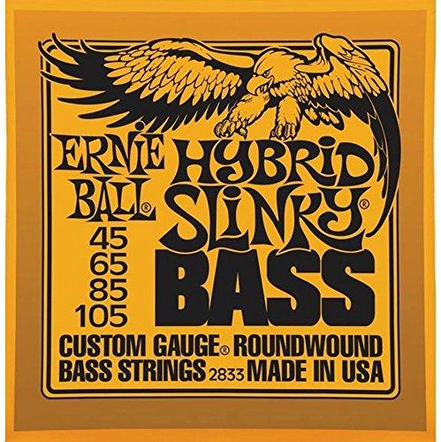 Ernie Ball 2833Hybrid Slinky Bass 4Saiten Set V5(45-105)