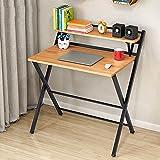Bürobedarf Schreibtisch-Einfaches Haus des Studentenbüro-Multifunktions-Kleinen Tabellencomputertischdesktops Einfachen Klapptischstudienschreibtischs
