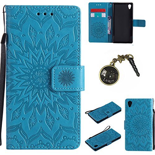 Preisvergleich Produktbild PU Silikon Schutzhülle Handyhülle Painted pc case cover hülle Handy-Fall-Haut Shell Abdeckungen für Sony Xperia M4 Aqua +Staubstecker (2FF)