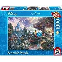 Schmidt 59472 Puzzle Cenerentola Thomas Kinkade 1000 Pezzi