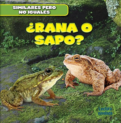 Rana o sapo? / Frog or Toad? (Similares Pero No Iguales / Animal Look-alikes) por Rob Ryndak