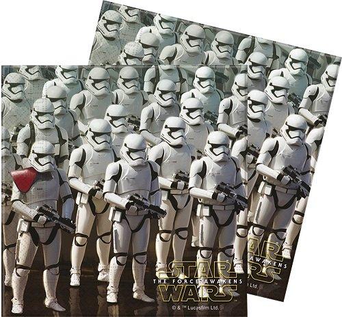 20 Servietten * STAR WARS VII * für Kindergeburtstag und Motto-Party // Set Napkins Kinder Einweg Geburtstag Motto The Force Awakens Lucasfilm Darth Vader Yoda Krieg der Sterne Disney Episode Klonkrieger R2-D2 C-3PO