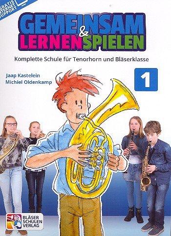Gemeinsam lernen & spielen Band 1 (+Online-Access) : für Bläserklasse (Blasorchester) Tenorhorn