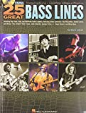 Hal Leonard 25 great Bass Lines mit CD - for Bass / Tab