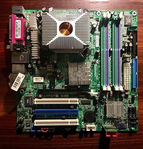 MSI MS-7091 V2 Mainboard Sockel 775 DDR2 RAM IDE PCI Bulk (Msi 775 Mainboard)