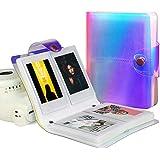 Álbum de Fotos - Álbum de Libro de Fotos Colorido Transparente de 3 Pulgadas para Fujifilm Instax Mini Photos