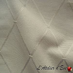 Dandy Tissu ameublement faux-uni lin par Thevenon au metre